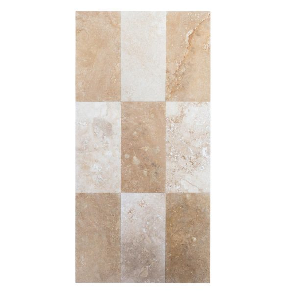 lidia antique travertine tile