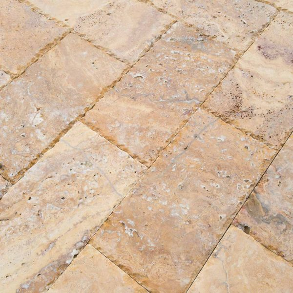 Mandros Gold Yellow Travertine