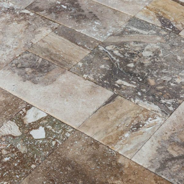 conglomerate-antique-pattern-travertine-tiles-close-angle-view-wet-www.mayausatile
