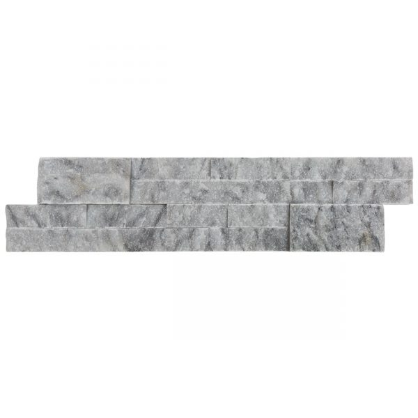 20012462-split-face-carrara-gray-marble-stacked-stone-ledger-panel-6x24-single-view-www.mayausatile.com