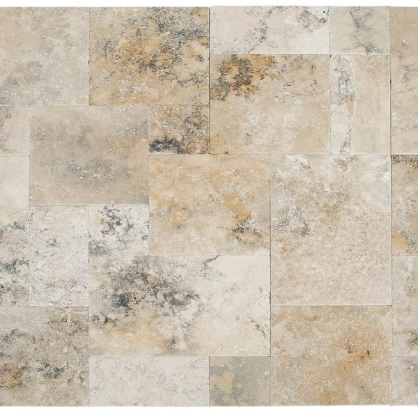 50077237 - Golden-Ink-Travertine-Antique-Pattern-Set-multi-top-view-4