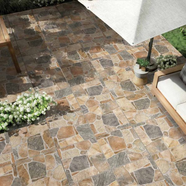 KUZ1-ANK136-Northern Glazed Porcelain Tile-18x18-Matte garden view